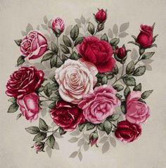 букет роз - Схемы вышивки - Светлана159 - Авторы - Портал «Вышивка крестом»