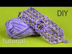 Macramé Firework Bracelet Tutorial - YouTube