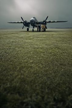 B-25 Mitchell, via Flickr. #military aviation