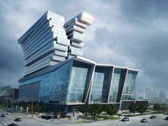 Pazhou Exhibition Hotel' by Aedas Ltd in Guangzhou, China