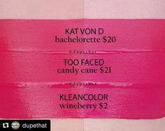 In good company with this @dupethat swatch of our Madly Matte Lip Gloss in Wineberry (1611) #kleancolor #repost #swatch #lipswatch #madlymatte #matte #mattelips #lipgloss #madlymattelipgloss #lip #wineberry #lipjunkie #makeup #cosmetics #beauty