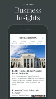 The Wall Street Journal – Breaking news headlines, stock market updates & financial coverage, plus business analysis. by Dow Jones & Company, Inc., publisher of The Wall Street Journal.