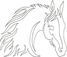 13 Free Continuous Machine Quilting Designs Images - Continuous Line Quilting Patterns, Free Continuous Line Quilting Designs and Free Continuous Machine Quilting Patterns Quilting Stencils, Quilting Templates, Longarm Quilting, Free Motion Quilting, Machine Quilting Patterns, Quilt Patterns, Stitch Patterns, Horse Quilt, Zebras