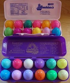 Resurrection eggs - excited to start this tradition with my kids this year!!!
