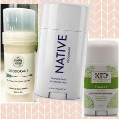 Sweat Clean, Live Dirty — My Top Three Favorite Natural Deodorants