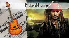 Partitura y Tablatura Piratas del caribe Guitarra Acústica