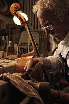 ♫♪ Music ♪♫ craft man brown Lutierul by David Postatny