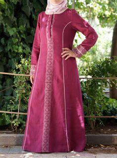 SHUKR's long dresses and abayas are the ultimate in Islamic fashion. Islamic Fashion, Muslim Fashion, Hijab Style Dress, Abaya Designs, Pakistani Bridal Dresses, Islamic Clothing, Abaya Fashion, Maxi Dresses, Embroidery