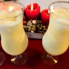 Pina Colada Recept, Cocktail Drinks, Cocktails, Glass Of Milk, Panna Cotta, Recipies, Food And Drink, Cooking Recipes, Ethnic Recipes