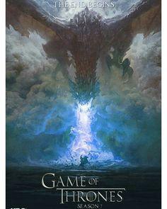 2,947 vind-ik-leuks, 27 reacties - Game of Thrones Memes (@thronesmemes) op Instagram: 'Another fan made poster for Season 7'
