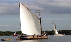 #WHERRY #sailing Course and Stay at at How Hill House September 2014 Two full sailing days which will include sailing upstream from How Hill House to Barton Broad and on to Wayford or Stalham.