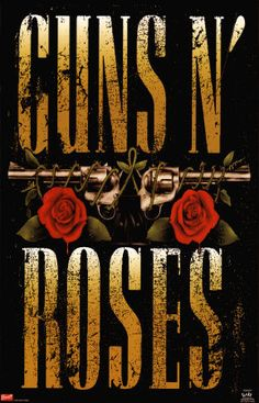 GUNS N ROSES GNR Hard Rock Heavy Metal Music Fabric POSTER WALL BANNER FLAG New