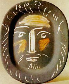 Plat ovale - Pablo Picasso