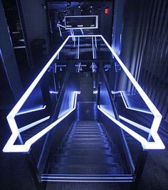 These task lights light of the stairs in unique way
