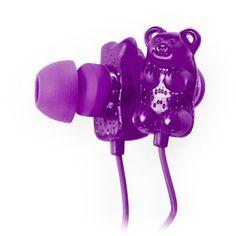 Amazon.com: Gummy Bears Earbuds with Mic (Green): Electronics