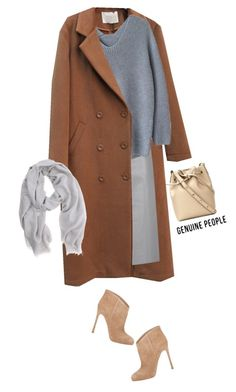 """My style with http://genuine-people.com/"" by nastyaafanasova ❤ liked on Polyvore featuring Mansur Gavriel, Peridot London, Gianvito Rossi, Mint Velvet and Genuine_People"