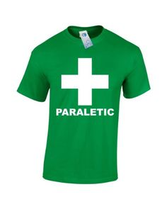 PARALETIC (XL - KELLY GREEN) NEW PREMIUM T SHIRT - alcoholic alcohal drunk mortal pissed glasses fancy dress wine stag hen night bride groom booze drinking paramedic Slogan Funny Novelty Vintage retro top clothes Unisex Mens Ladies Womens Girl Boy Loosefit tshirt shirts tshirts joke keep Fashion Urban calm geek Dope Gift Birthday Christmas Present S M L XL 2XL 3XL - by Fonfella Fonfella Slogans http://www.amazon.co.uk/dp/B00EAS7UA6/ref=cm_sw_r_pi_dp_SR6Ttb1GKYM3EH5Z