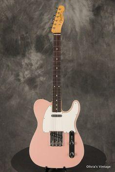 Fender Guitars - Olivia's Vintage Guitars - Vintage and Fine guitars Fender Squier Telecaster, Fender Guitars, Guitar Amp, Cool Guitar, Fender Custom Shop, Thing 1, Beautiful Guitars, Vintage Guitars, Music Instruments