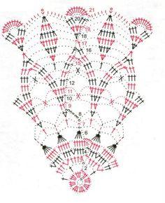 Photo from album Crochet Doily Diagram, Crochet Doily Patterns, Crochet Art, Thread Crochet, Filet Crochet, Crochet Shawl, Crochet Coaster, Crochet Dollies, Crochet Flowers