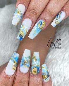 """@gypsyesthetique: """"Mon projet VS l'inspiration ✨💕 . Il reste quelques disponibilités avec Mylène cette semaine! .…"""" Foil Nail Art, Foil Nails, Foil Nail Designs, Hoe, Pretty Nails, Manicure, Inspiration, Beauty, Ideas"""