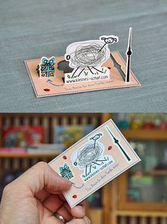 3D Business Cards