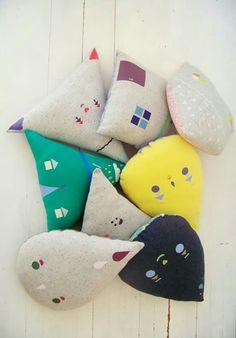 Almohadones Infantiles #niños #bebes #decoinfantil #diseñoargentino #estampados #kids #nursery #kidsroom #cushion #baby #justborn #decokids