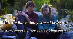 sweet memories: You are like nobody since I love you