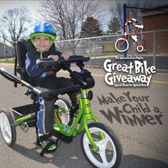 Bikes Kids Special Need Donate Children Hospitals Special