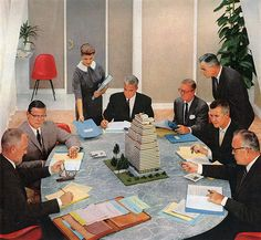 Management Decides...From the Mid Century Modernist. pinned by Secret Design Studio, Melbourne. www.secretdesignstudio.com