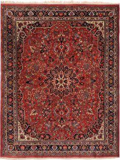 Schuler Auktionen Zürich     Bidjar W-Iran, um 1910 285x360 cm (ft. 9.4x11.9).