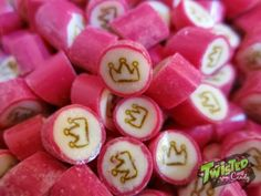 Twisted Candy Candy, Handmade, Food, Hand Made, Essen, Meals, Sweets, Candy Bars, Yemek