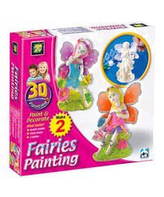 3-D Painting Two-Piece Fairy Set
