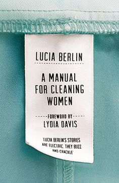manual for cleaning women cover. 50 books 50 covers  http://barbarafalconernewhall.com/2016/08/11/50-books-50-covers/