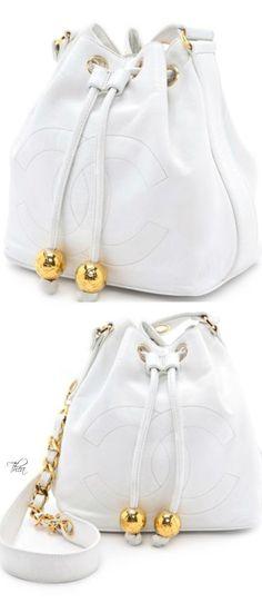 Vintage Chanel bucket bag ♥♥ www.thailandlifes... www.trish120.word...
