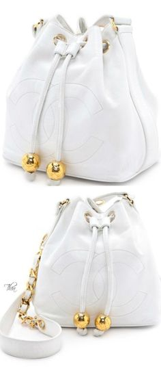 Vintage Chanel bucket bag ♥♥ www.thailandlifes... www.trish120.word...