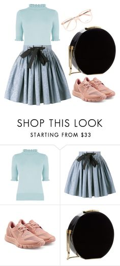 """Untitled #556"" by farrahaqs on Polyvore featuring Oasis, Miu Miu, adidas, Elie Saab and Chloé"
