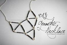 Agape Love Designs: Geometric Necklace Tutorial