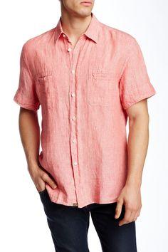 Donelson Short Sleeve Linen Shirt
