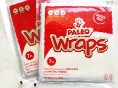 Paleo Wraps™ are Low Carb, Gluten Free, Grain Free, Delicious Tortilla Replacement. Non-GMO -Choose from Coconut or Turmeric Variety. Made w/Organic Coconuts! Get Paleo Protein Powders, Protein Bars, Dark Chocolates, Cereal Waffles, Pizza Mixes & more. FREE Shipping Nationwide (On Our 14 Pack) http://www.julianbakery.com/paleo-product/paleo-wraps-14-individual-wraps/