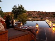 Located on 18,500 acres of wide open plains at the foot of the Cederberg Mountains, Bushmans Kloof  isn't wanting for extraordinary surroundings. In fact, the resort has enough impressive credentials to make your head spin: The natural heritage site on which it sits is home to more than 150 kinds of birds, 750 species of plants, and 35 species of mammals