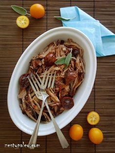 Instant Pot Pulled Pork with Kumquat Chutney (Nightshade-Free, AIP) - Zesty Paleo