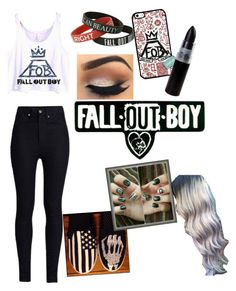 """Fall Out boy Outfit"" by blue-beat-2 ❤ liked on Polyvore"