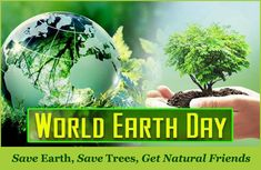Earth Day is an annual event celebrated around the world on April 22 to demonstrate support for environmental protection. First celebrated in 1970, it now includes events coordinated globally by the #Earth #Day Network in more than 193 countries.