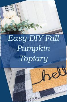Get ready for Halloween and Thanksgiving with our fall decorating ideas. Improve the indoors with pumpkin-themed jobs or complete a ... #etsy #interio... Autumn Decorating, Pumpkin Decorating, Decorating Ideas, Making Throw Pillows, Throw Rugs, Fall Bedroom Decor, Pumpkin Topiary, Bedroom Night Stands, Teen Girl Bedrooms
