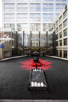 Radisson Blu Hotel Pudong Century Park, Shanghai - Entrance