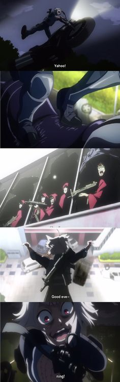 Tokyo Ghoul Episode 11, Juuzou Suzuya, Aogiri Tree, CCG, Motorbike,