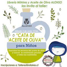 Taller CATA DE ACITE DE OLIVA PARA NIÑOS - MilAires, Boutique del Libro.