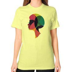 Disco Dancer Unisex T-Shirt (on woman)