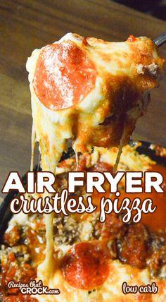 Air Fryer Recipes Low Carb, Air Fryer Recipes Breakfast, Air Fryer Dinner Recipes, Low Carb Recipes, Breakfast Cooking, Healthy Recipes, Easy Recipes, Vegetarian Breakfast, Diet Breakfast