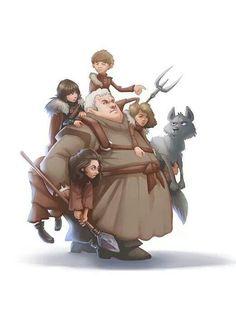 Hodor, juego de tronos